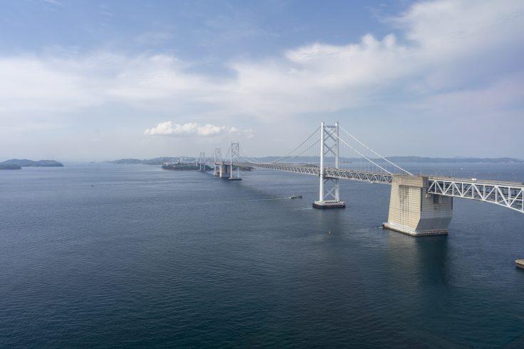 瀬戸大橋タワーから見た瀬戸大橋2