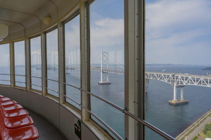 瀬戸大橋タワーから見る瀬戸大橋2