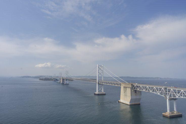 瀬戸大橋タワーから見る瀬戸大橋4