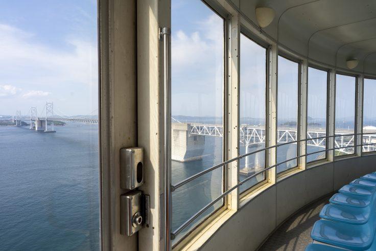瀬戸大橋タワーから見る瀬戸大橋3