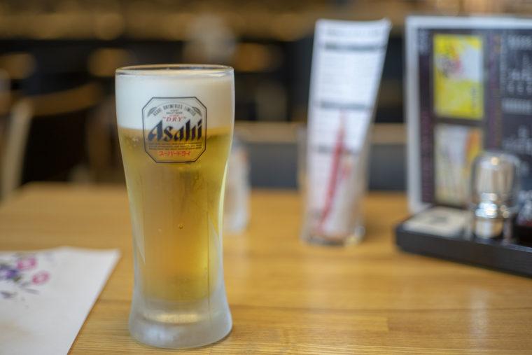 咲蔵の生ビール