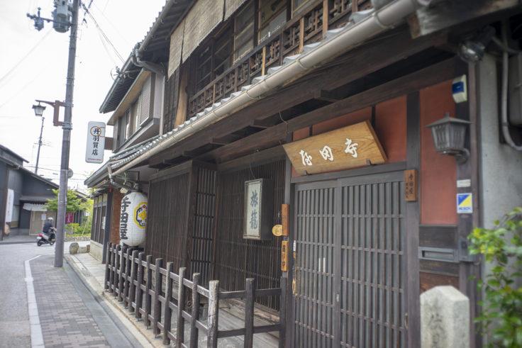 寺田屋入口前2