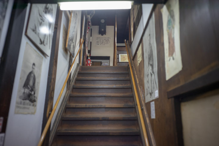 寺田屋階段