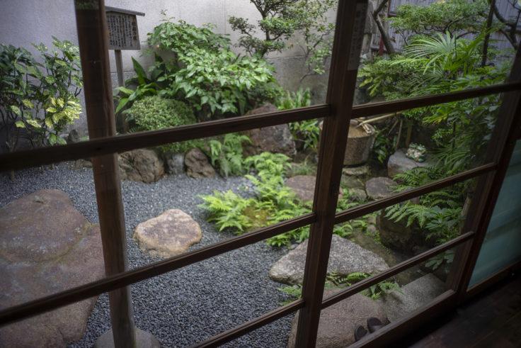 寺田屋中庭