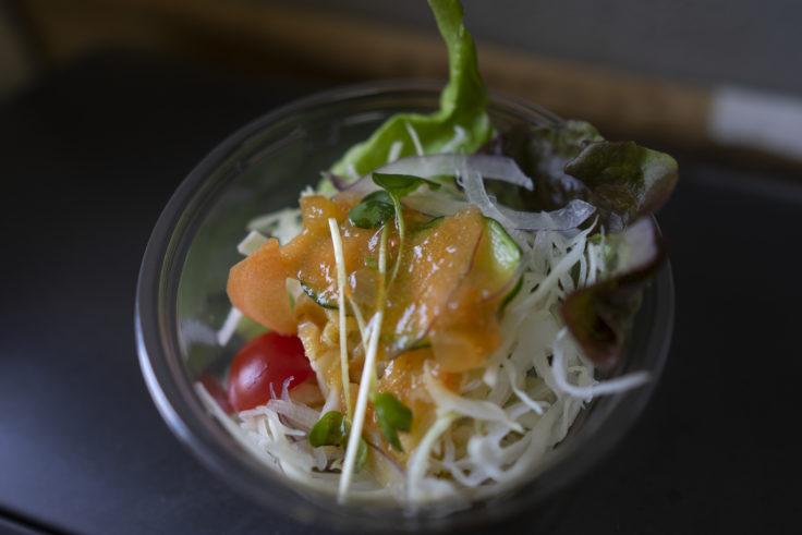 cafe kera´an カフェケラアンの北海道スープカレーにつくサラダ