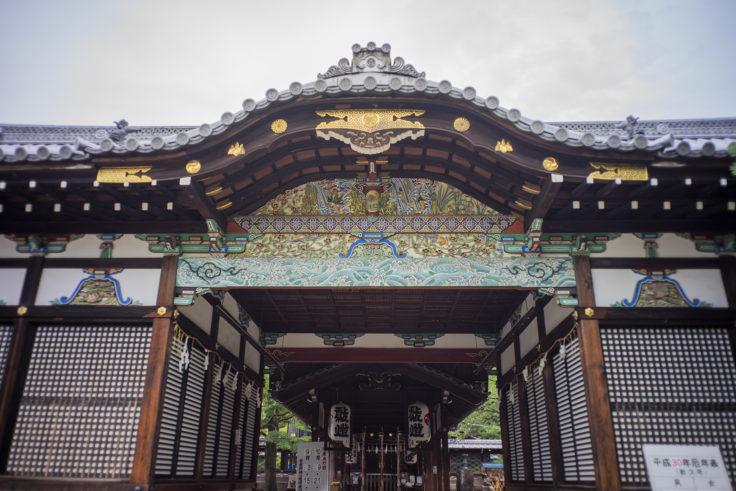 御香宮神社の装飾