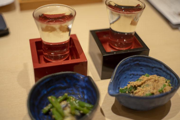 いろどりで日本酒