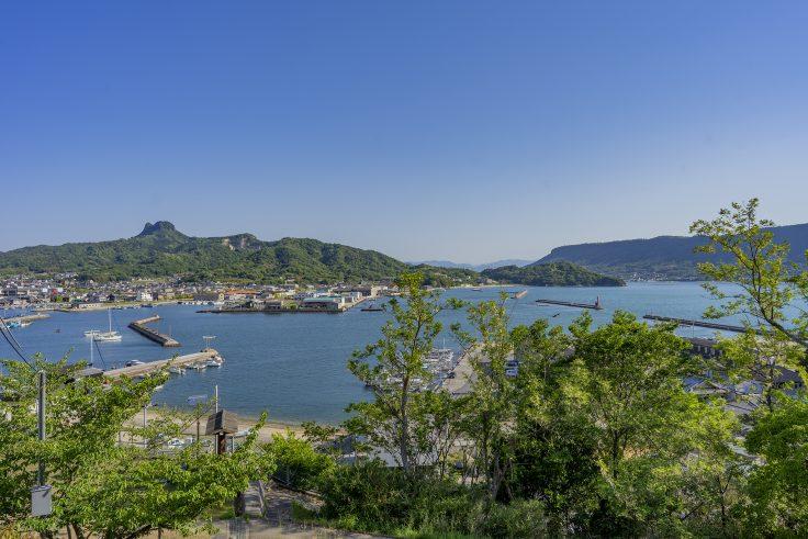 皇子神社から見た庵治の海2