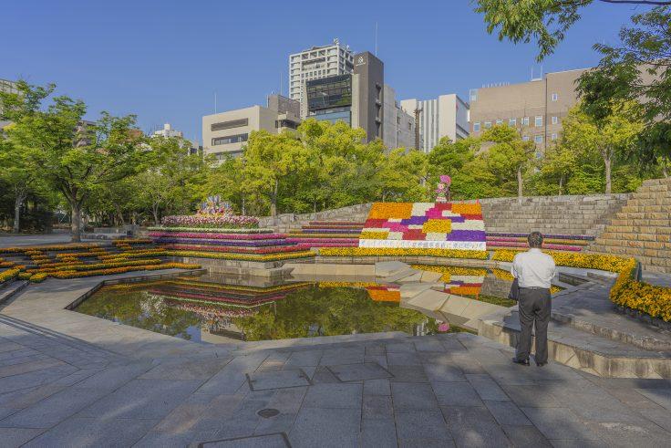 高松春のまつりフラワーフェスティバル2021石の広場