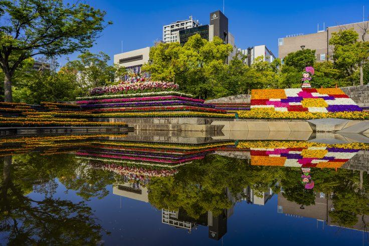 高松春のまつりフラワーフェスティバル2021石の広場2