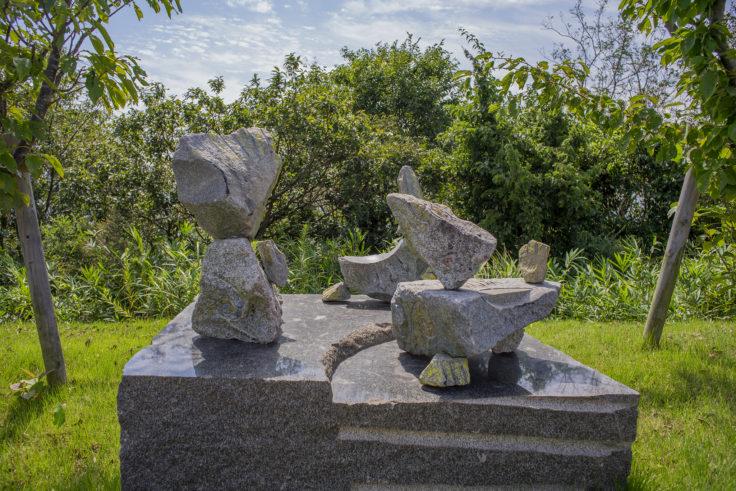 あじ竜王山公園の彫刻3