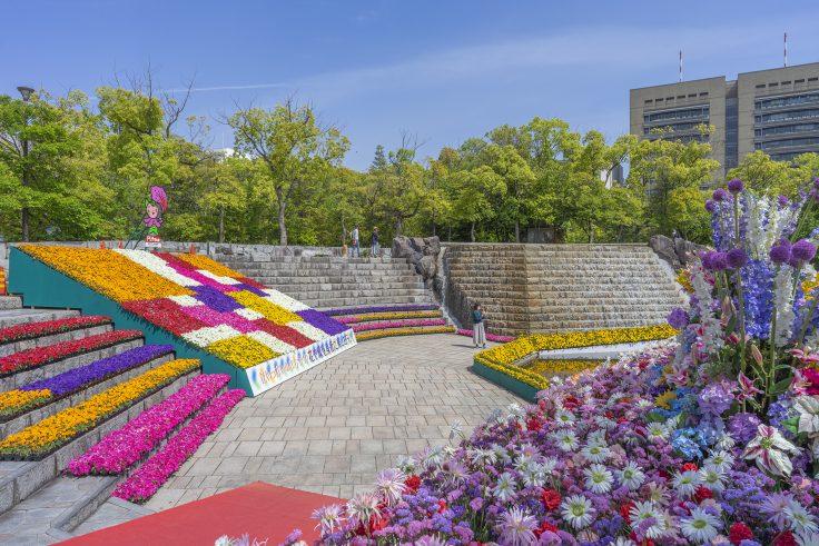 高松春のまつりフラワーフェスティバル2021石の広場5