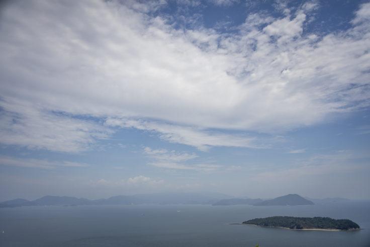 あじ竜王山公園からの瀬戸内海