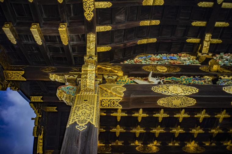 二条城唐門彫刻