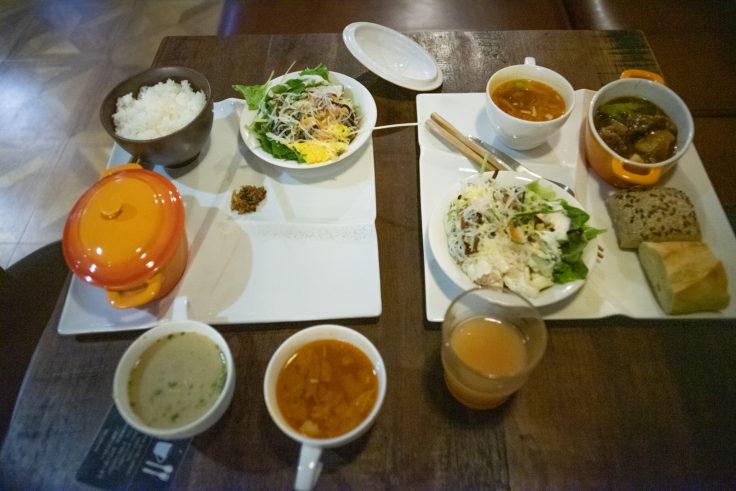 サクラテラス・ザ・アトリエの朝食1