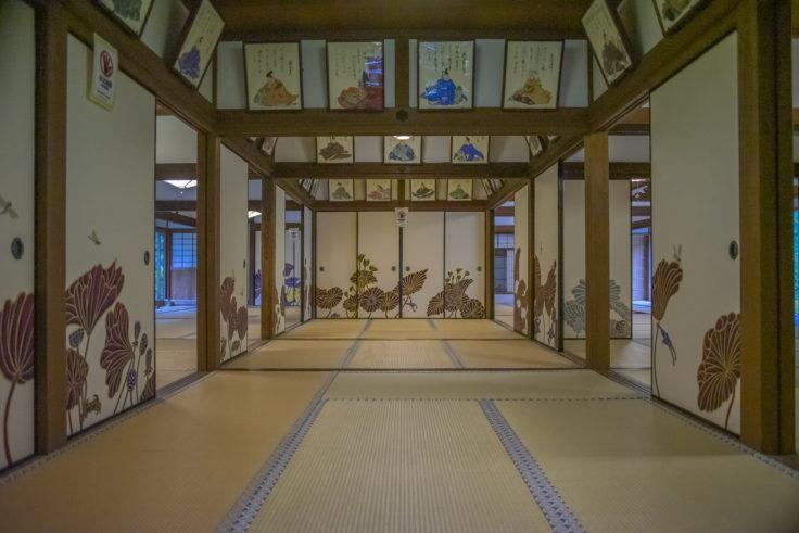 華頂殿の襖絵