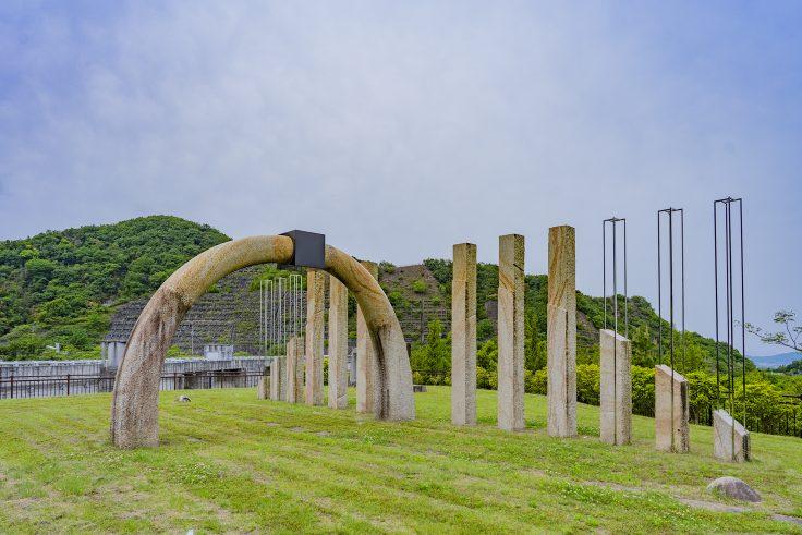 門入ダム「風の門」