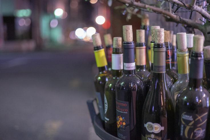 ワインの空き瓶