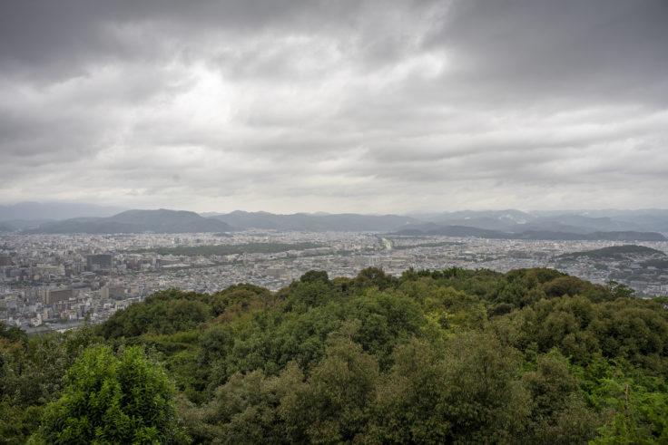 大舞台から見た京都