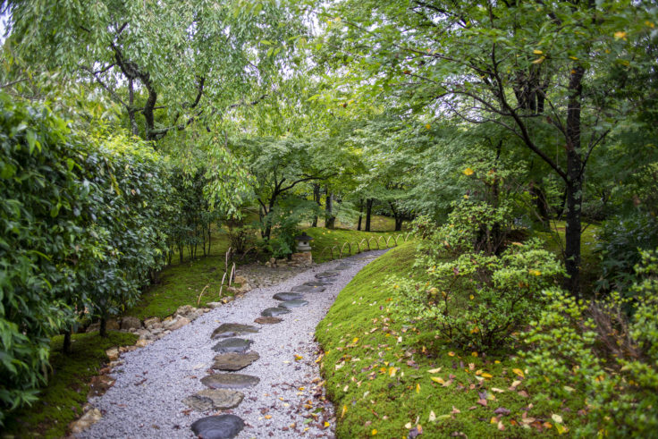 将軍塚庭園
