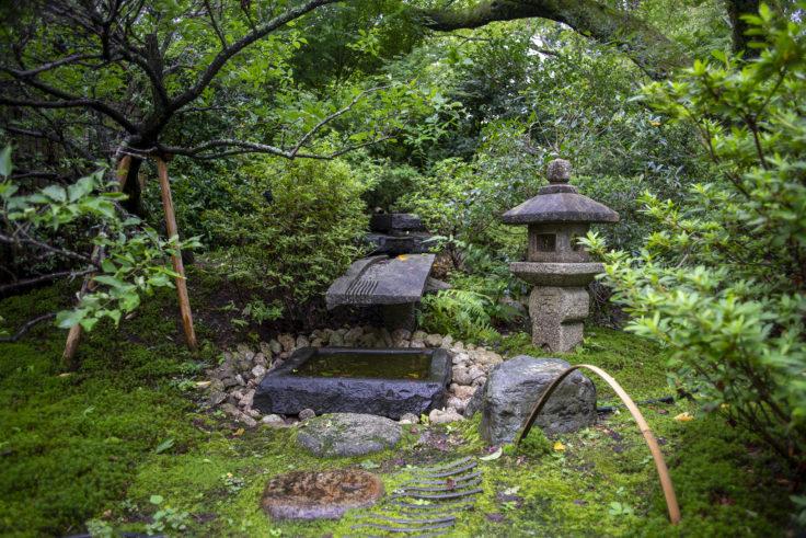 将軍塚庭園のオブジェ