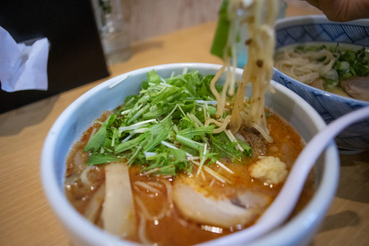 祇園白川ラーメンの辛味噌ラーメン