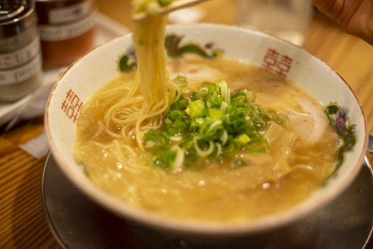 京都拉麺小路ますたにの中華そばリフトアップ