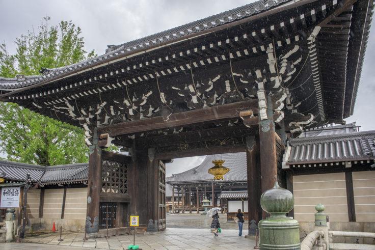 西本願寺御影堂門