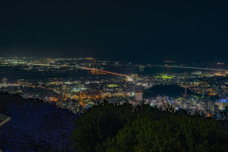 眉山の夜景1