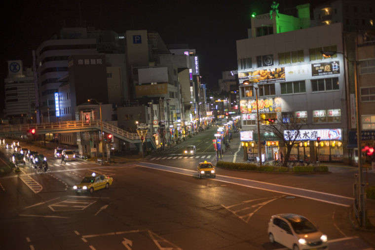 徳島市の歩道橋