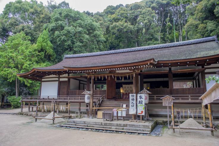 宇治上神社の拝殿