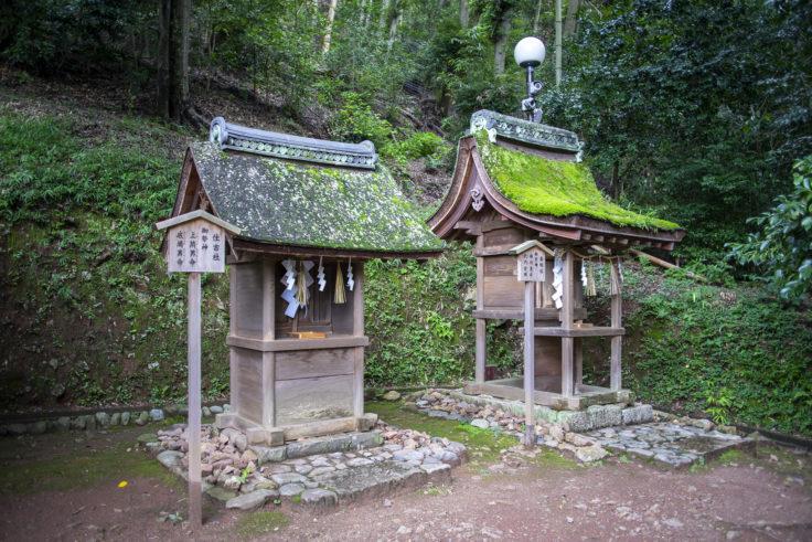 宇治上神社の香椎社と住吉社