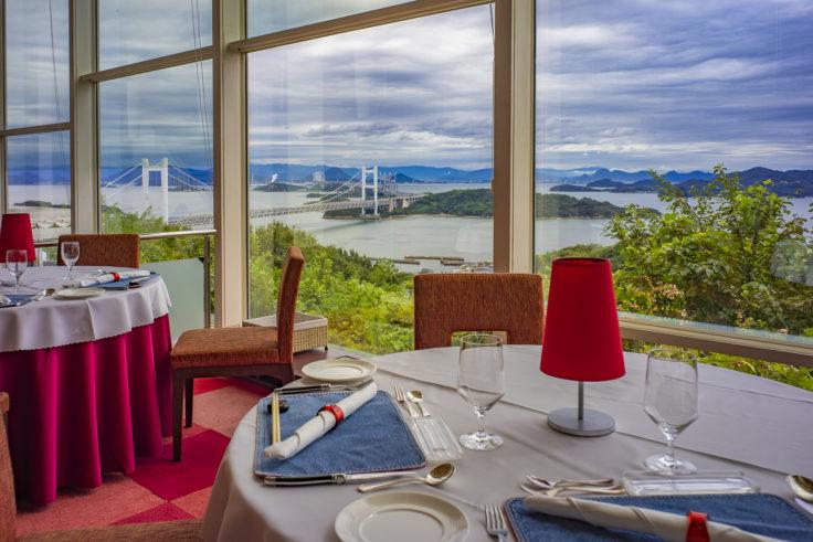 瀬戸内児島ホテルから見た瀬戸内海2