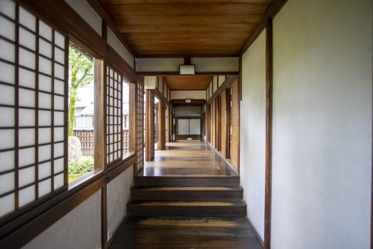 醍醐寺三宝院の廊下