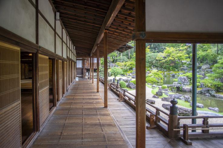 醍醐寺表書院縁側