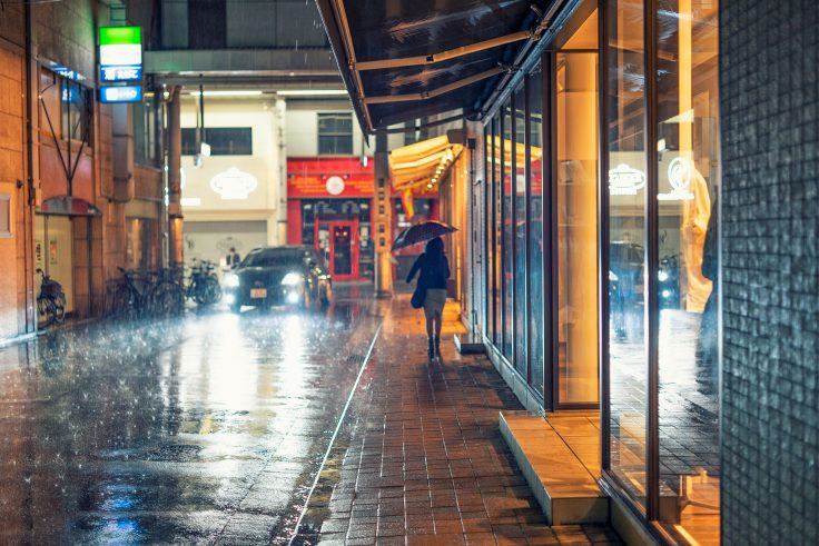 土砂降りの商店街2