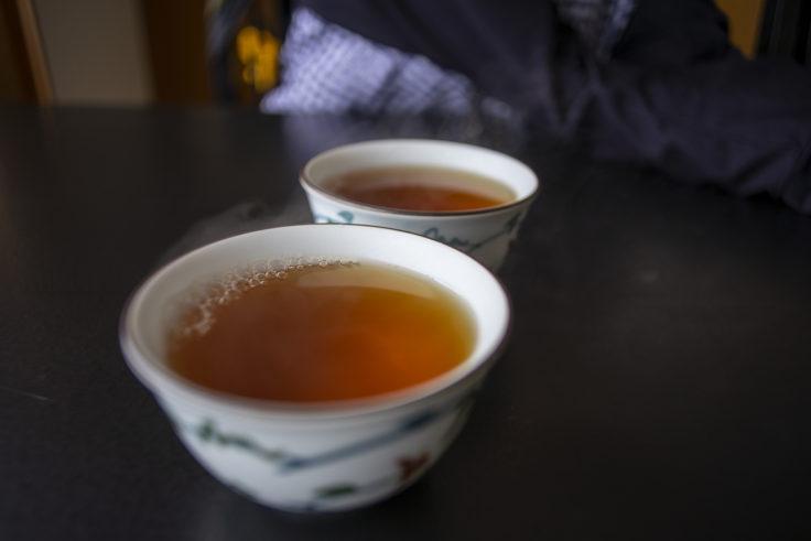 延暦寺会館のお茶