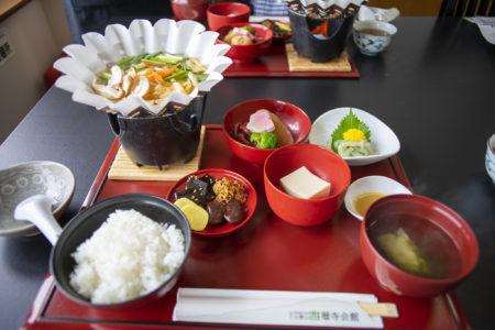 延暦寺会館の精進料理