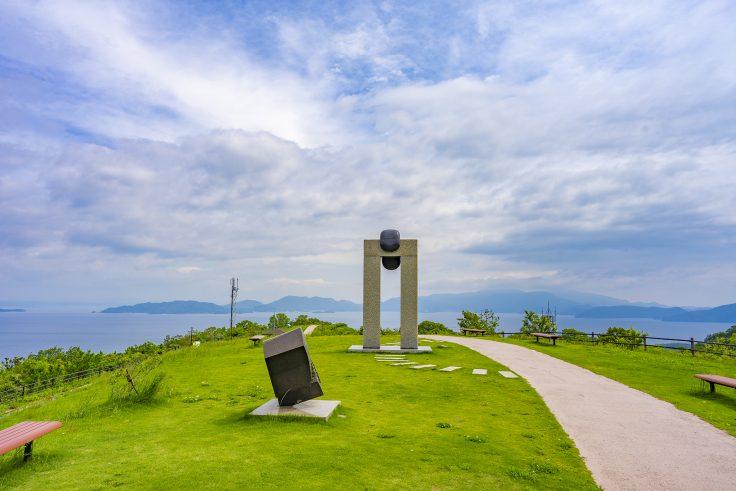 あじ竜王山公園の景色2