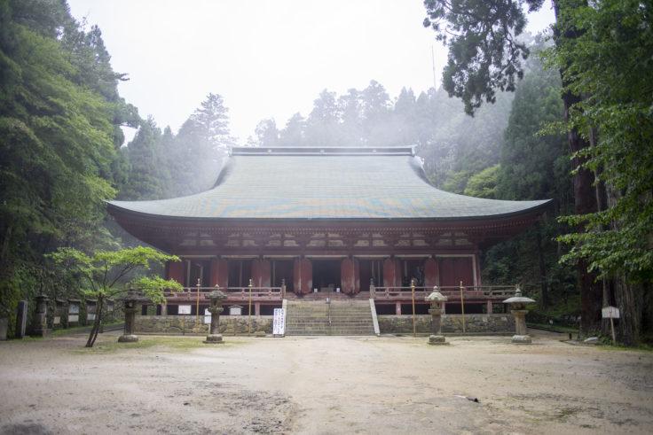 延暦寺釈迦堂(転法輪堂)