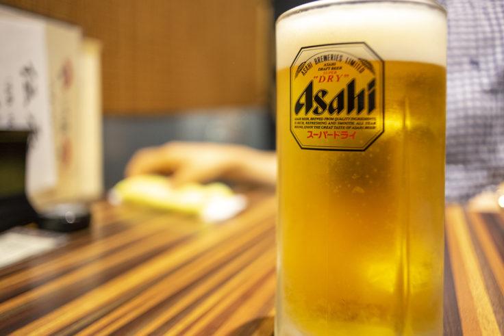 みやこみち「いち藤」の生ビール