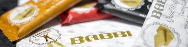 BABBIのチョコレートウエハース4種