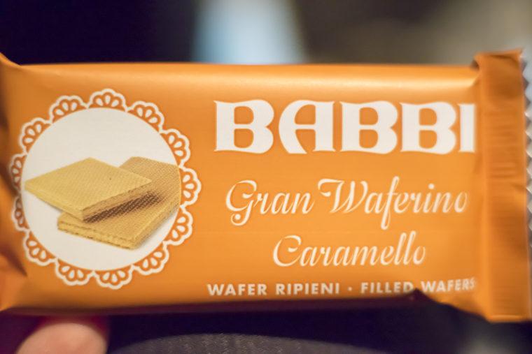 BABBIチョコレートウエハースキャラメル