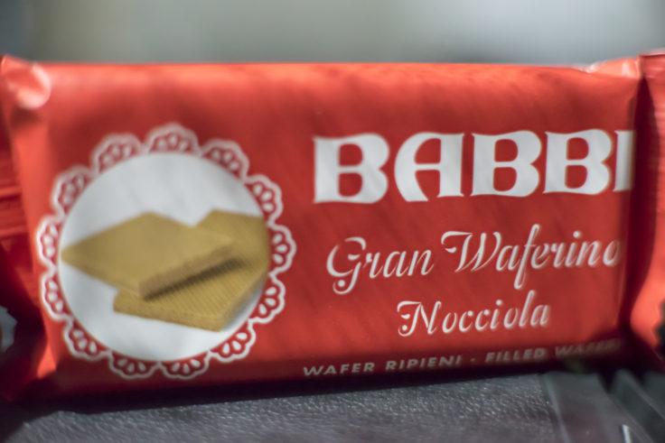 BABBIチョコレートウエハースヘーゼルナッツ