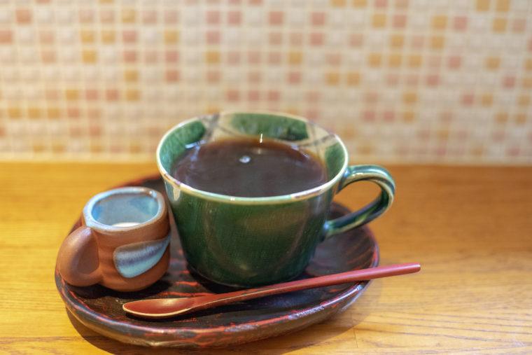 cafe茶蔵のコーヒー