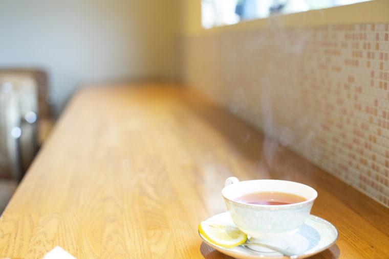 cafe茶蔵の紅茶