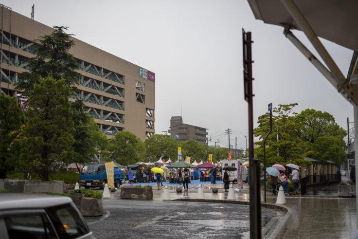 JR坂出駅前市民広場