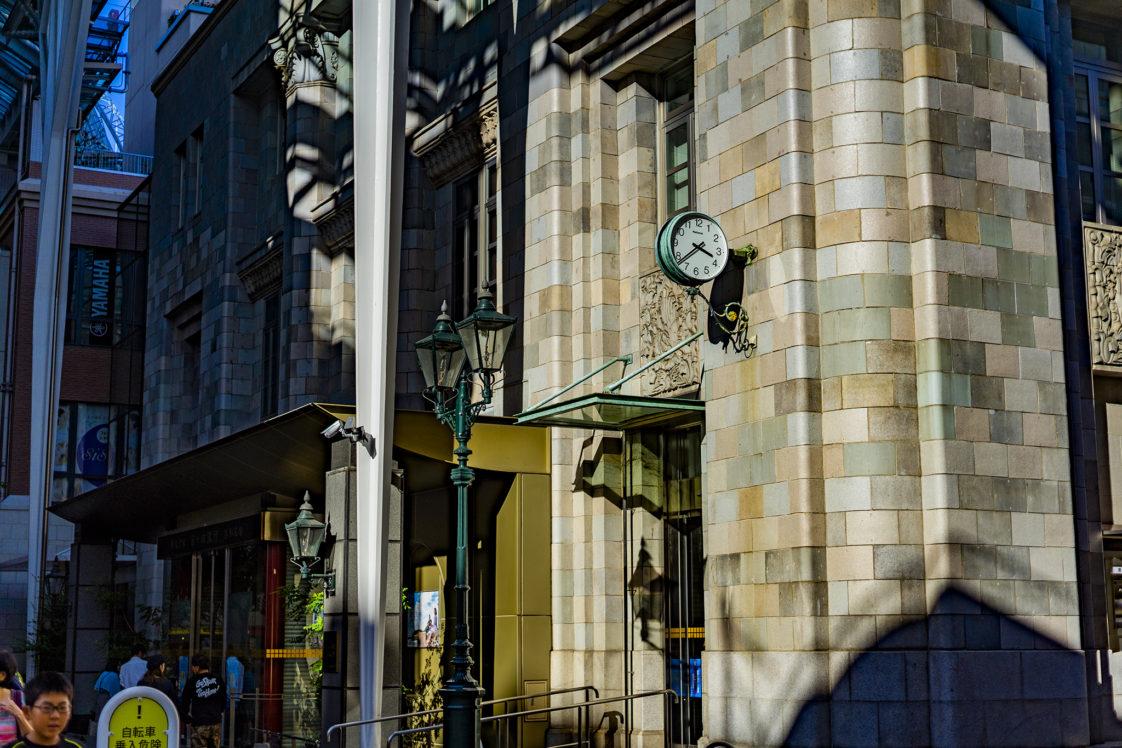 高松市商店街百十四銀行の時計