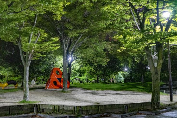 高松中央公園イサム・ノグチの作品