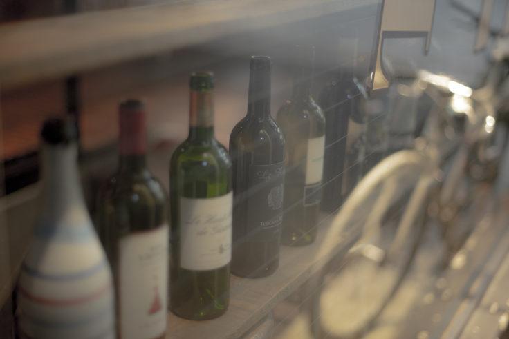 かすむワイン